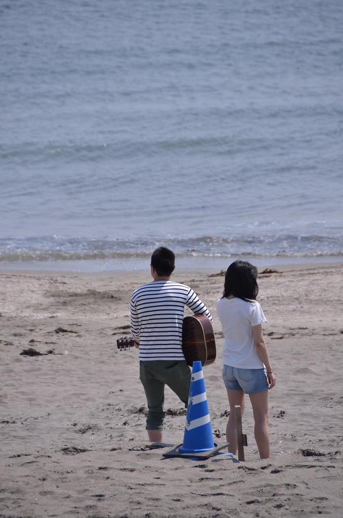 由比ヶ浜 Sunday afternoon_d0065116_22515956.jpg