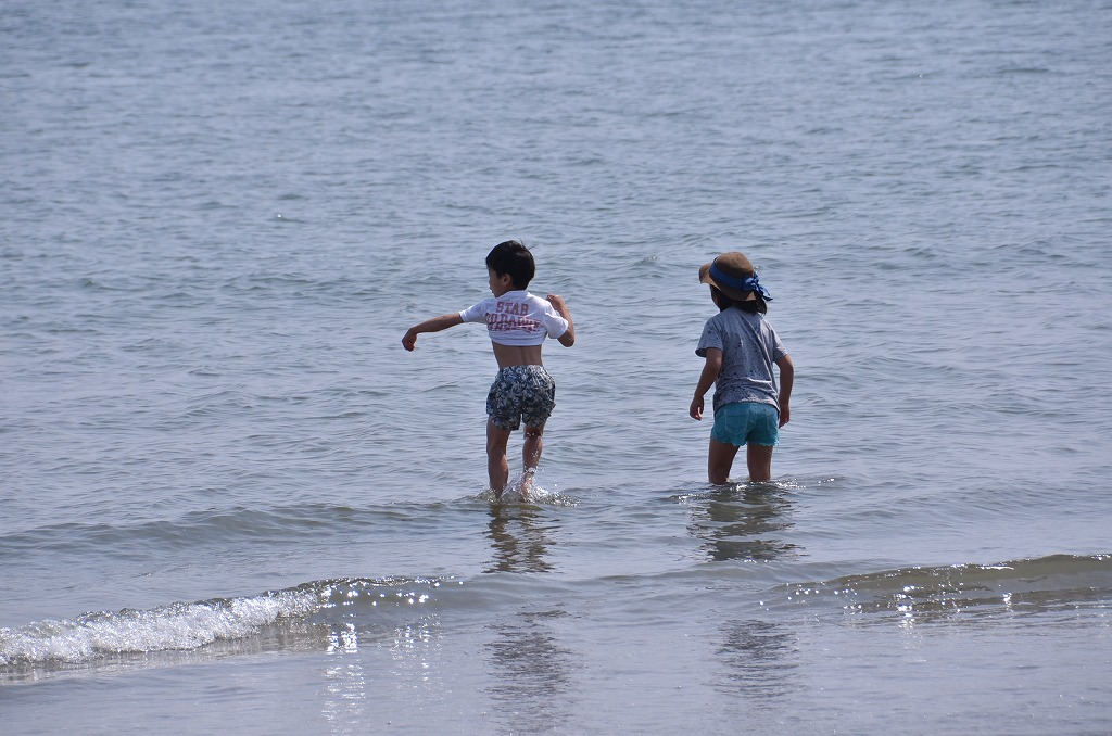 由比ヶ浜 Sunday afternoon_d0065116_2252505.jpg