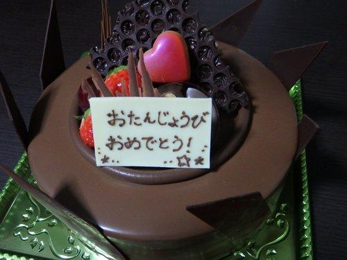 チョコレートケーキ!_f0178416_15145574.jpg