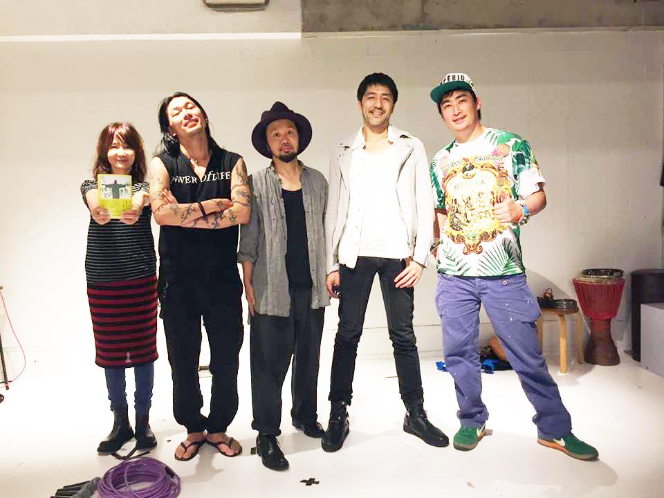 "【LIVE共演】スカパラ谷中さん、SOIL&\""PIMP\""SESSIONS、Dragon Ash ATSUSHI、SAIGENJI他と→_b0032617_2339695.jpg"
