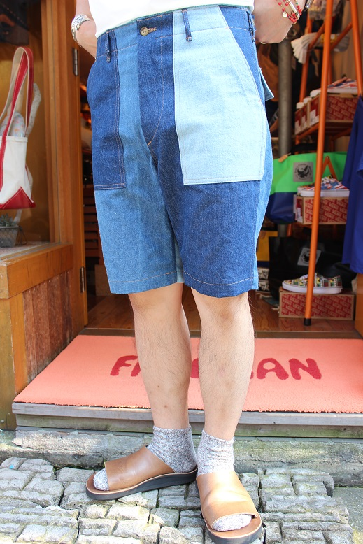 "orSlow ""FATIGUE & EASY SHORT PANTS\"" ご紹介_f0191324_9441693.jpg"