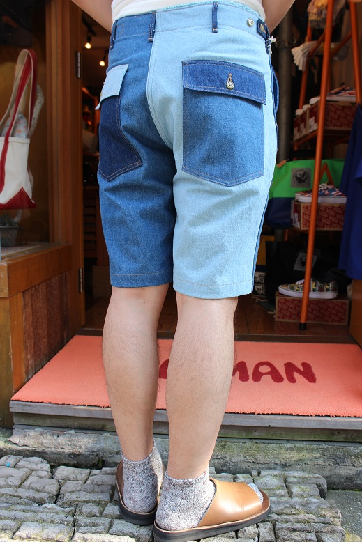 "orSlow ""FATIGUE & EASY SHORT PANTS\"" ご紹介_f0191324_9442241.jpg"