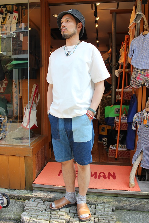 "orSlow ""FATIGUE & EASY SHORT PANTS\"" ご紹介_f0191324_9444044.jpg"