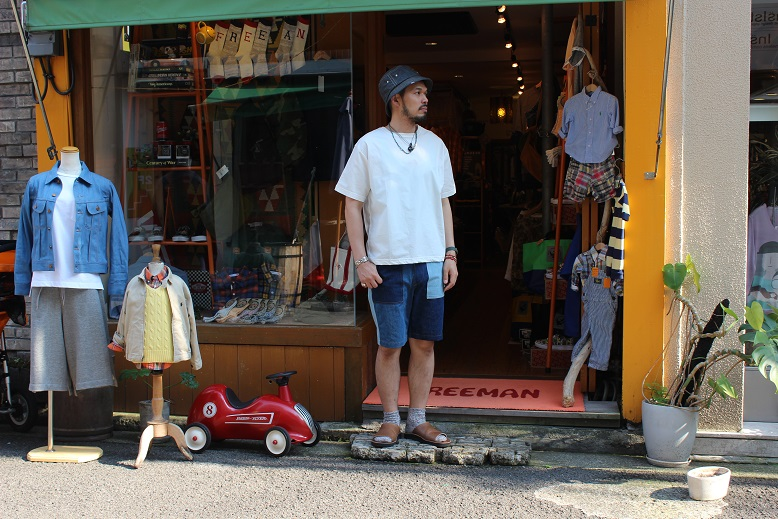 "orSlow ""FATIGUE & EASY SHORT PANTS\"" ご紹介_f0191324_94466.jpg"