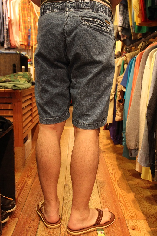 "orSlow ""FATIGUE & EASY SHORT PANTS\"" ご紹介_f0191324_9461156.jpg"