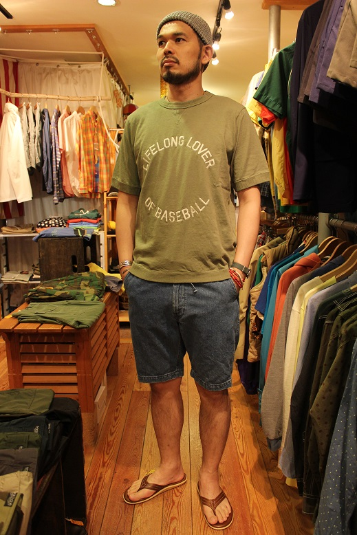 "orSlow ""FATIGUE & EASY SHORT PANTS\"" ご紹介_f0191324_9463059.jpg"