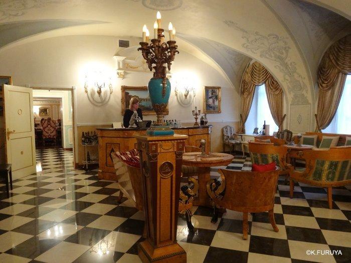 ロシアの旅 7  ストロガノフ宮殿でビーフストロガノフ♪_a0092659_19264259.jpg