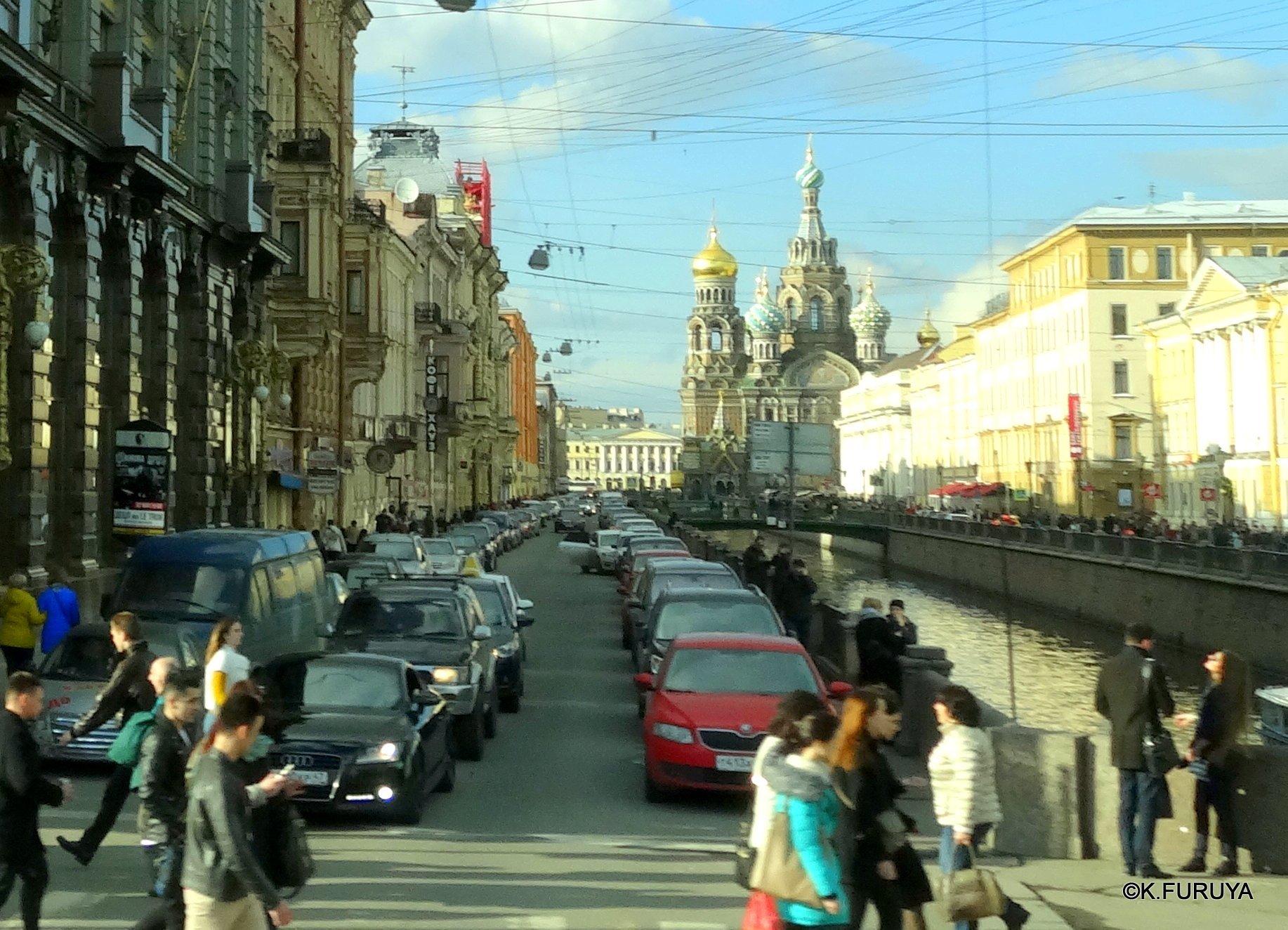 ロシアの旅 7  ストロガノフ宮殿でビーフストロガノフ♪_a0092659_19274173.jpg