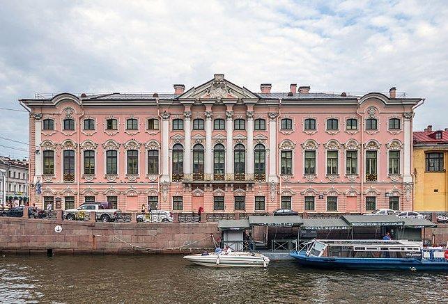 ロシアの旅 7  ストロガノフ宮殿でビーフストロガノフ♪_a0092659_21252653.jpg