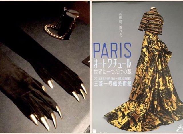 PARISオートクチュール世界に一つだけの服展にて♡_a0138976_15454574.jpg