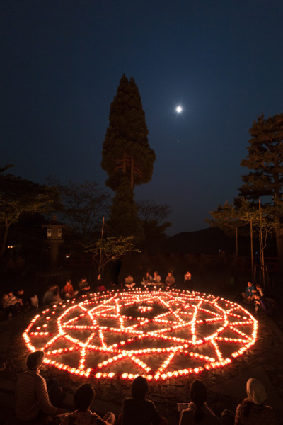 鞍馬寺「五月満月祭(ウエサク祭)」_e0051888_553362.jpg