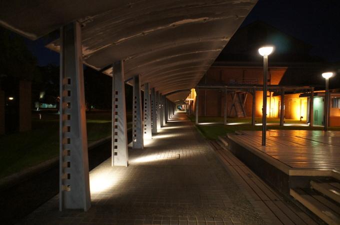 【金沢の夜景】市民芸術村にて_b0369489_21260528.jpg