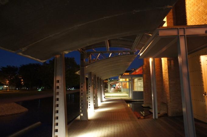 【金沢の夜景】市民芸術村にて_b0369489_21345257.jpg