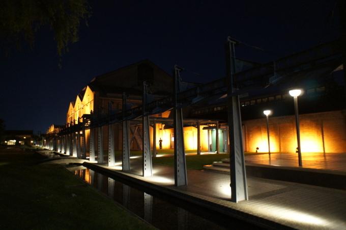 【金沢の夜景】市民芸術村にて_b0369489_21492581.jpg