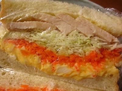 キビヤベーカリーと一昨日のサンドイッチ。_f0231189_08181804.jpg