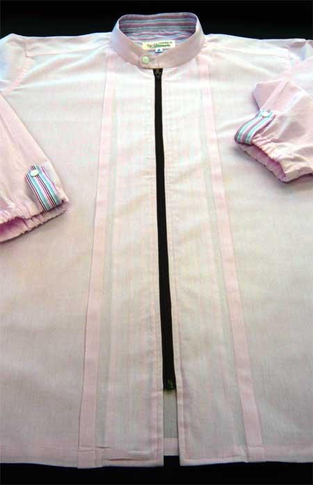 ジップシャツ ピンク_a0110103_20372543.jpg