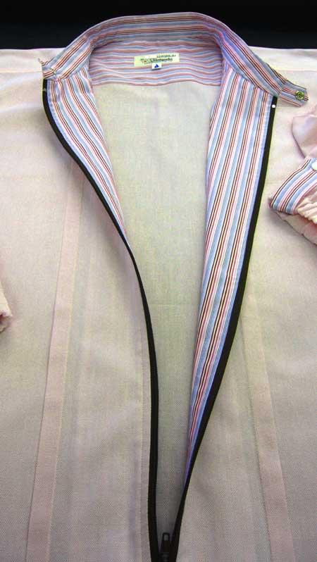 ジップシャツ ピンク_a0110103_20375111.jpg