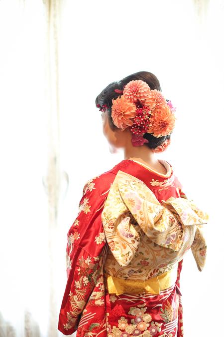 新郎新婦様からのメール メゾン ポール・ボキューズ様へ 初夏の装花 ニュアンスカラーで _a0042928_1629443.jpg