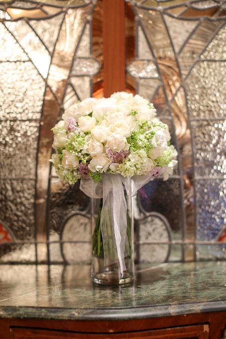 新郎新婦様からのメール メゾン ポール・ボキューズ様へ 初夏の装花 ニュアンスカラーで _a0042928_16295990.jpg