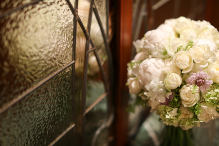新郎新婦様からのメール メゾン ポール・ボキューズ様へ 初夏の装花 ニュアンスカラーで _a0042928_16315269.jpg