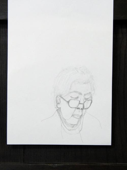 鉛筆画 ~ 人物画 ~_e0222340_15251816.jpg