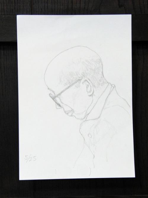 鉛筆画 ~ 人物画 ~_e0222340_15253117.jpg