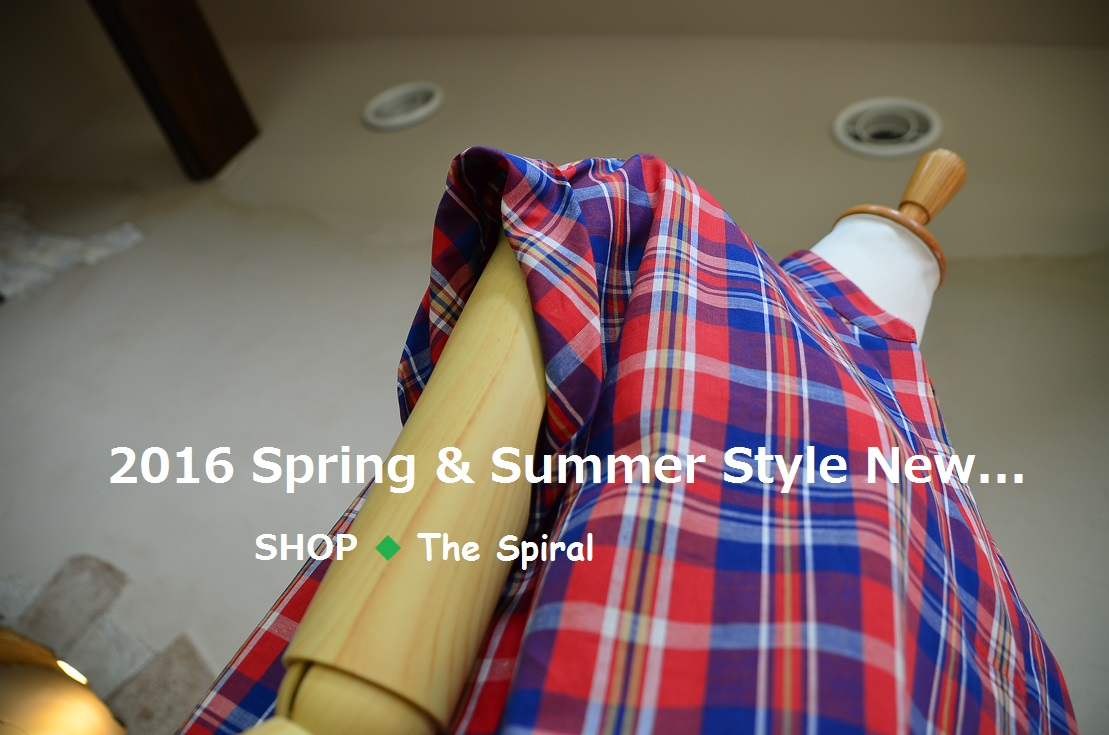 """2016 Spring & Summer Style New... 5/25wed\""_d0153941_162329.jpg"