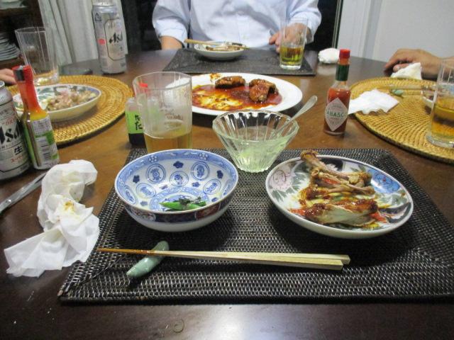彼の友人とお夕食_a0279743_947219.jpg