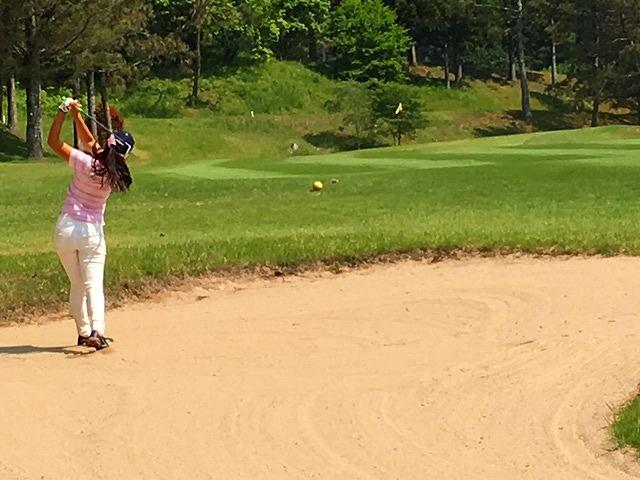 第8回 梶岡建設ジュニアゴルフ月例競技会_f0151251_826466.jpg