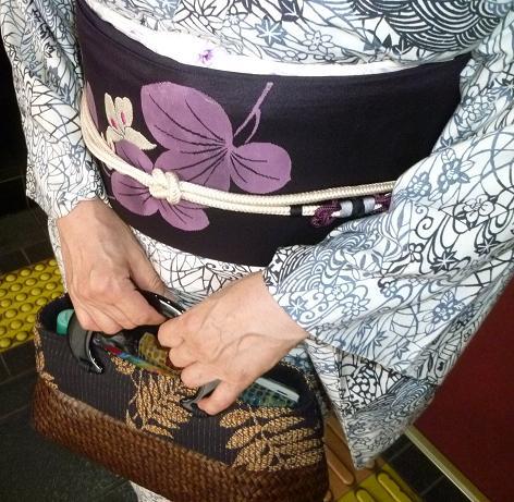 ファッションカンタータのお客様・涼しげな単衣。_f0181251_18101151.jpg