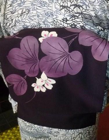ファッションカンタータのお客様・涼しげな単衣。_f0181251_1891428.jpg