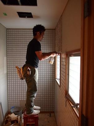 鉄筋コンクリートのリノベーション、タイル工事_e0010955_06191892.jpg