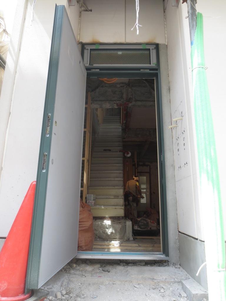 桜台の家改修 外壁木下地工事_c0310571_22161959.jpg