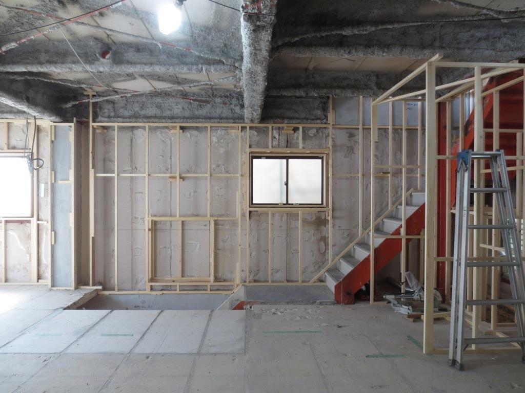 桜台の家改修 外壁木下地工事_c0310571_22162661.jpg