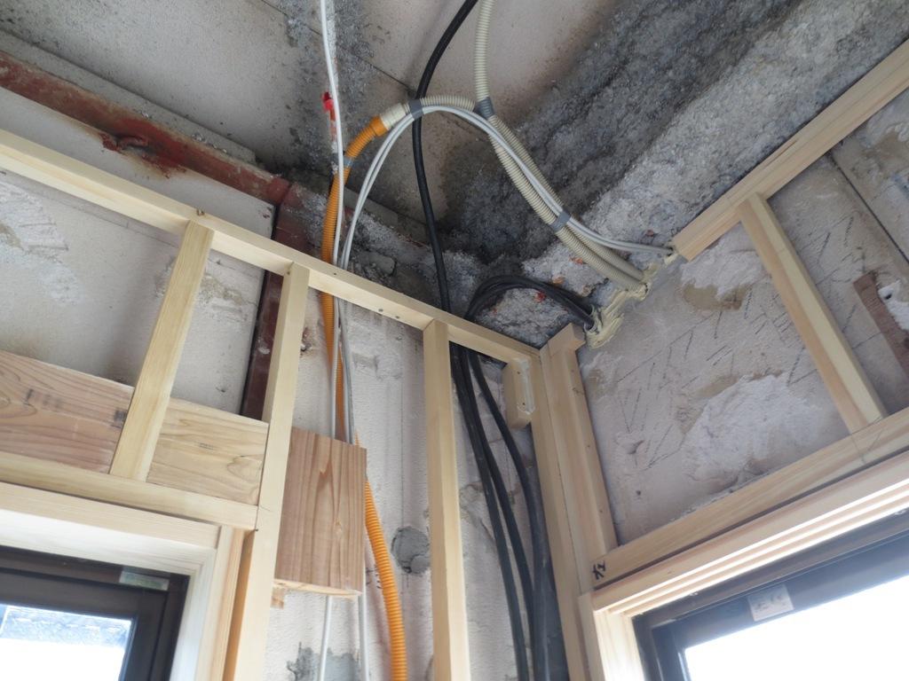 桜台の家改修 外壁木下地工事_c0310571_22162931.jpg