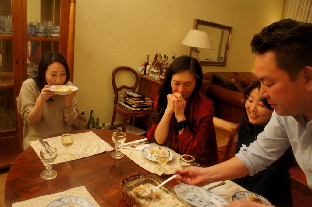 3/14の晩餐とKEBT室内楽リハーサル。_c0180686_17005723.jpg