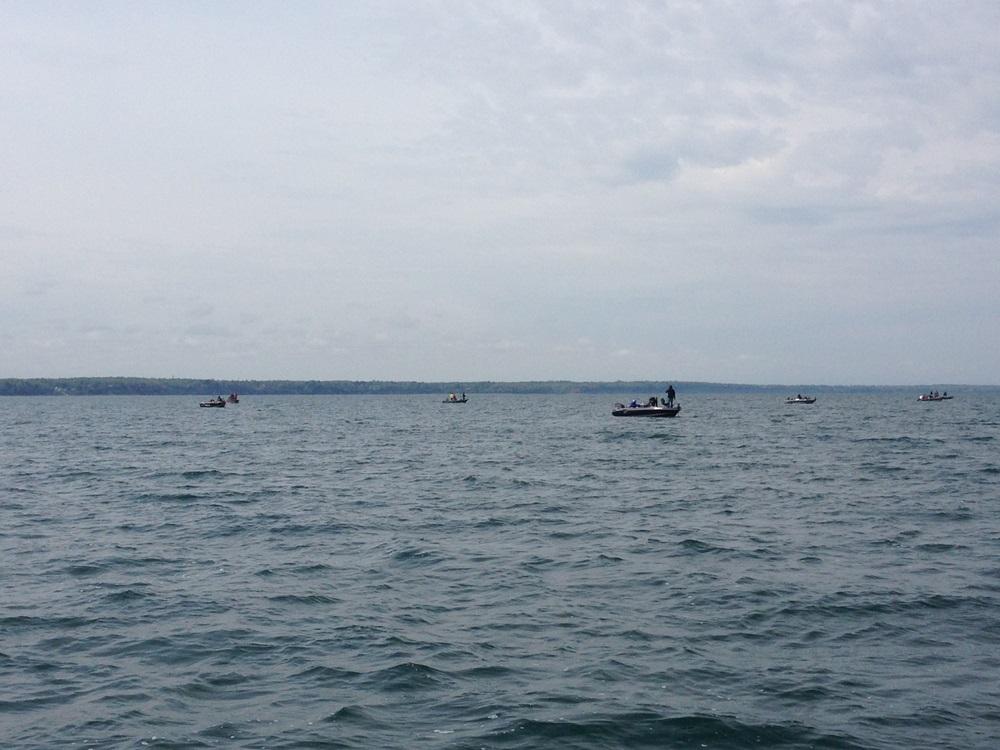 釣行記 【エリー湖のプリスポーンフィッシング - ディープウォーターの破壊力!】_d0145899_19225984.jpg