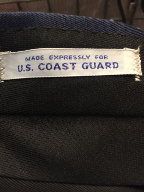 本日入荷! デッドストック U.S NAVY Coast Guard Short Pants!! W32_c0144020_1512289.jpg