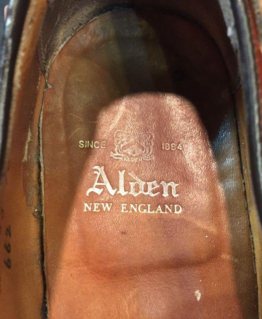 5月28日(土)入荷! USED ALDEN タッセル スリップオン SHOES!_c0144020_15255436.jpg