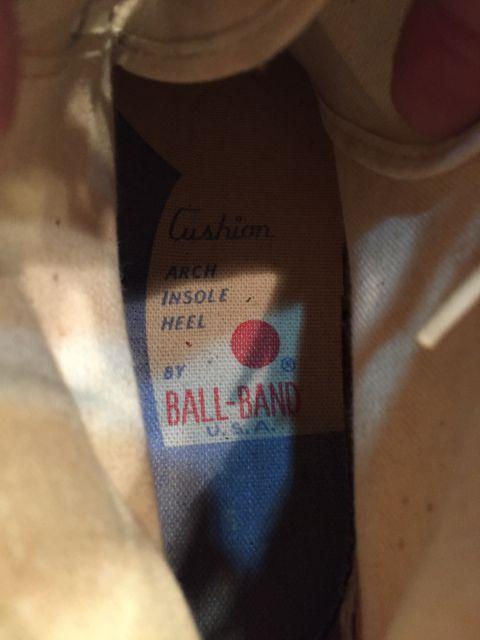 5月28日(土)入荷! 50s〜JETS BALL BAND  vintage canvas shoes !_c0144020_1613319.jpg