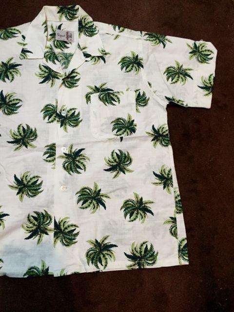 5月28日(土)入荷!60s all cotton パームツリー ハワイアンシャツ!_c0144020_16151387.jpg