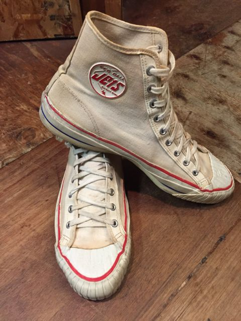 5月28日(土)入荷! 50s〜JETS BALL BAND  vintage canvas shoes !_c0144020_16534100.jpg