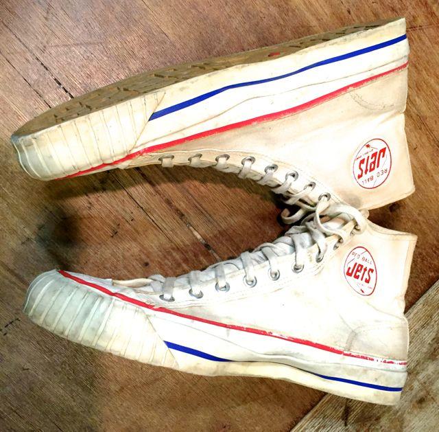 5月28日(土)入荷! 50s〜JETS BALL BAND  vintage canvas shoes !_c0144020_1653613.jpg