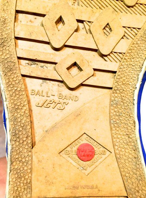 5月28日(土)入荷! 50s〜JETS BALL BAND  vintage canvas shoes !_c0144020_1654312.jpg