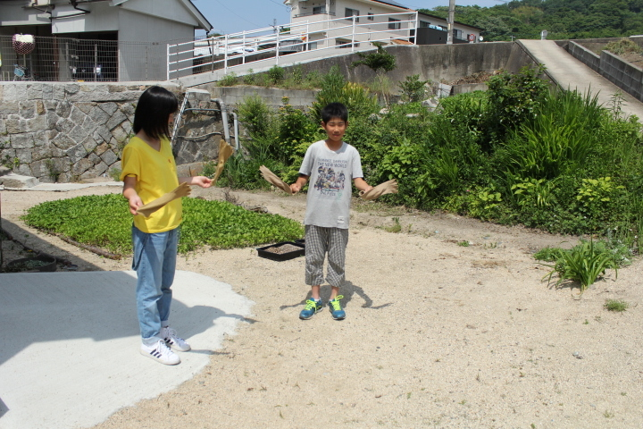 5月21日 季節の草木染め体験とミニベロポタリング_b0360823_21594516.jpg