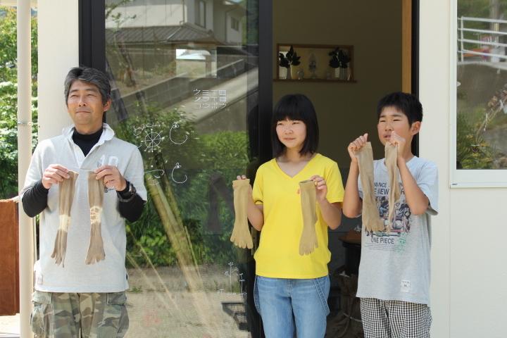 5月21日 季節の草木染め体験とミニベロポタリング_b0360823_22003440.jpg