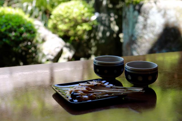 あぶり餅食べ比べ♪ 京都旅行 - 4_f0348831_21133739.jpg