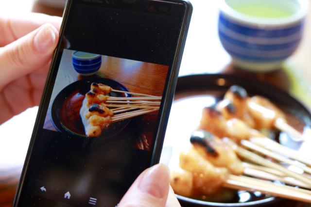 あぶり餅食べ比べ♪ 京都旅行 - 4_f0348831_21134695.jpg