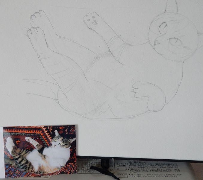 '16,5,27(金)こころちゃんの絵を描き始めたYO!_f0060461_10417.jpg