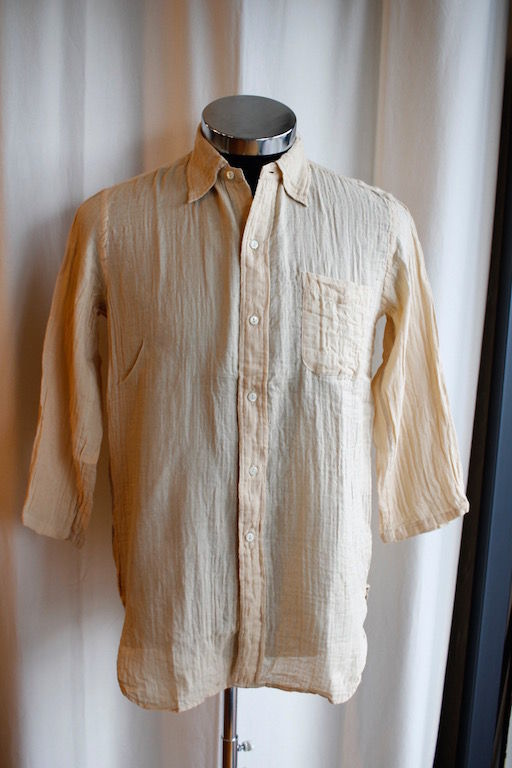 DOUBLE GAUZE SHIRT FOR FEEBLES_c0340269_15461669.jpg